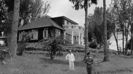 Foto jadul rumah Pengasingan para Founding Fathers Indonesia (Dok. Tribun Medan)