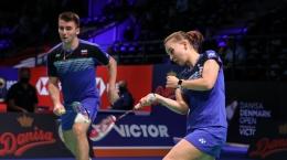 Juara Eropa, Rodion Alimov/Alina Davletova jadi tumpuan ROC di ganda campuran: bwfbadminton.com