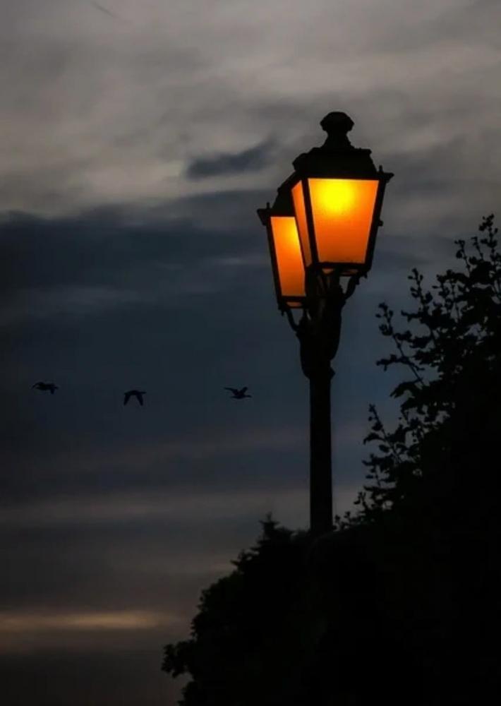 Ilustrasi lampu jalan/ Saat disapa bang Jul | foto: pixabay/Didgeman—