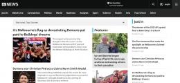 Laman Pertama ABC News. (Sumber: abc.net.au)