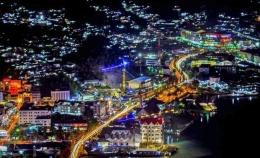 Kota Jayapura diwaktu malam dok. Owen/paraparatv.id