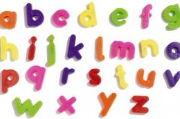 Ilustrasi abjad (Sumber: Alamy via Kompas.com)