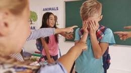 Ilustrasi anak dibully di sekolah   Sumber: istockphoto