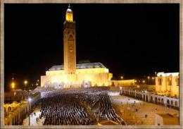 Ramadhan di Masjid Hasan II Casablanca Marocco (Dok.Dunia Tempo.co)
