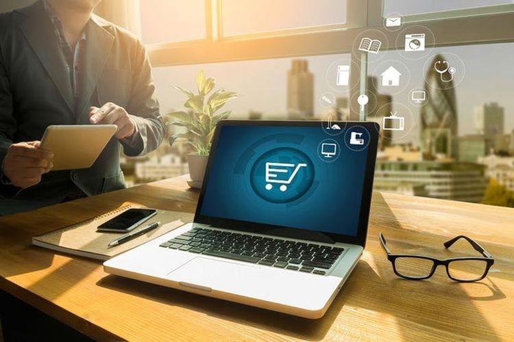 Ilustrasi hybrid marketing dalam bisnis di era digital. Sumber: Shutterstock via Kompas.com