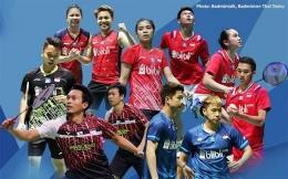 Para atlet bulu tangkis Indonesia (sumber: jpnn.com)