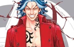 Shiba Taiju, villain utama di Tokyo Revengers Season 2 arc Black Dragon (Sumber: chapteria.com)