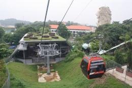 Cable car di Singapura. | Dokumentasi Pribadi