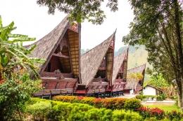 Istana Sisingamangaraja di Desa Simamora. Sumber : Disini