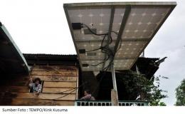 Gambar 2 Lampu Tenaga Surya Hemat Energi/ditjenppi.menlhk.go.id