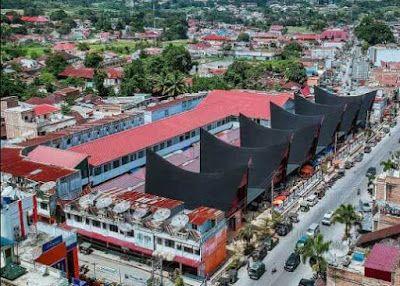 Kota Balige dengan tetenger Onan Balairung (Foto:@wavanwilan via teavelingmedan.com