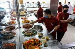Ilustrasi rumah makan.  Sumber: Kompas.com/Garry Andrew Lotulung