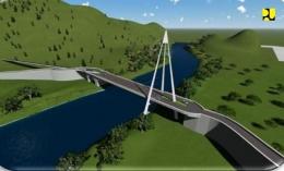 Ilustrasi Jembatan Tano Ponggol. (Sumber https://pu.go.id/)