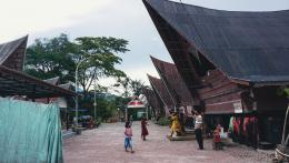 Wisatawan pasca pandemi di Desa Tomok (dok. pribadi)