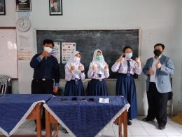 Kegiatan KSN IPS tingkat kota Cimahi di SMP Negeri 3 Cimahi