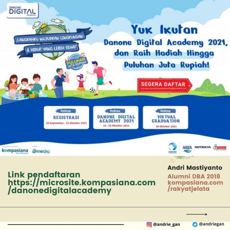 Yuks Ikutan Danone Digital Academy 2018 I Sumber Foto : dokpri design by Canva