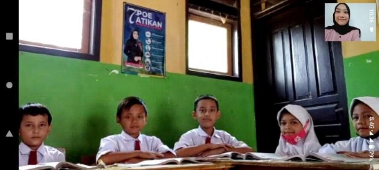 KKN Tematik UPI 2021: Pembiasaan Literasi Anak Melalui Program Pojok Membaca