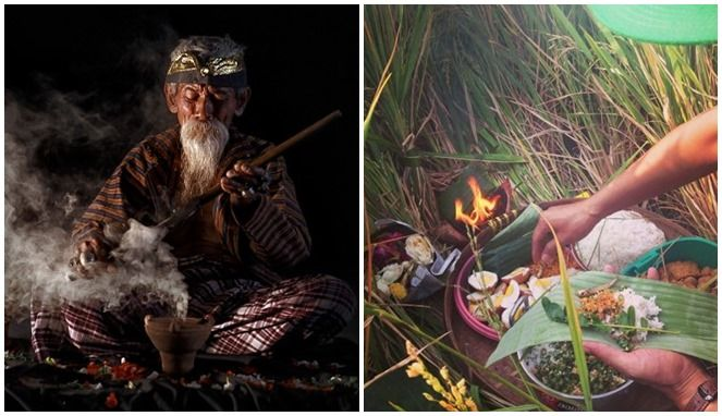Ilustrasi Ritual klenik (boombastis.com)