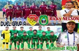 Partai Grup A, NTT vs Maluku Utara dimainkan di Std. Mandala-Jayapura, Selasa, 28/9/2021 (foto: desain AD)