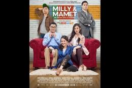 Poster film Milly & Mamet: Ini Bukan Cinta & Rangga (2018). Sumber: Kompas.com