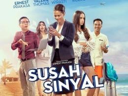 Poster film Susah Sinyal (2017). Sumber: hot.detik.com