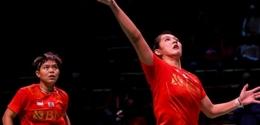Debut mengesankan Fadia/Ribka dengan menyumbang poin dari nomor ganda putri (Foto Badmintonindonesia.org)