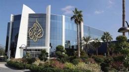 Gedung Al Jazeera di Doha, Qatar. Sumebr: www.tribunnewswiki.com