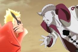 Naruto Vs Isshiki di anime Boruto episode 217. (Sumber: duniaku.idntimes.com)