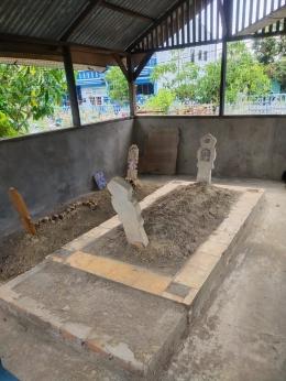 makam Khalifah H. Muda di tempat pemakaman umum jalan jendral sudirman, Minggu(26/9)