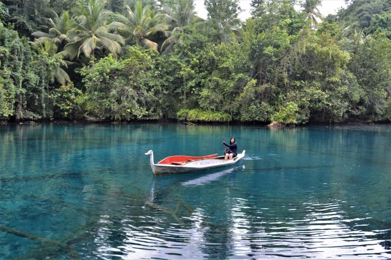 Danau Paisupok, Danau Cermin di Lukpanenteng Banggai Kepulauan Sulawesi Tengah (Dokumen Pribadi)