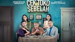 Poster film Cek Toko Sebelah (2016). Sumber: wow.tribunnews.com