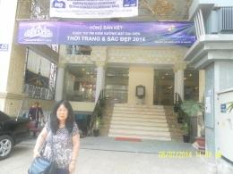 Latar belekang hotel kami nginap di Ho Chi Minh
