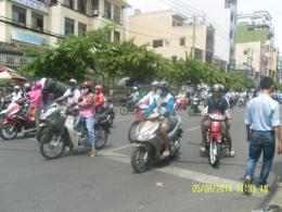 Pengguna sepeda motor di Ho Chi Minh (Dok Pribadi)