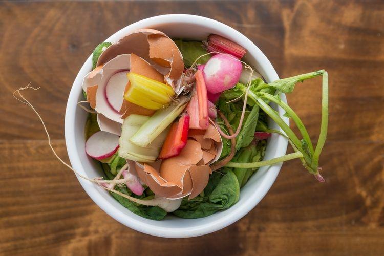 Ilustrasi sampah dapur bisa diolah menjadi kompos.| Sumber: Shutterstock/Karen Sanders Studio via Kompas.com