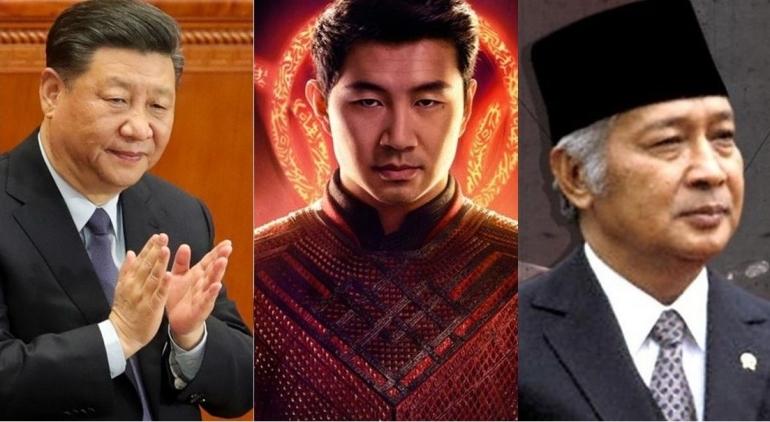 Xi Jinping, Shang-chi, dan Ramalan Soeharto 25 Tahun Lalu (Sumber: detik.com, liputan6.com, ekonomi.bisnis.com)
