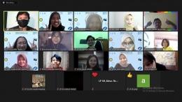 Relawan Muda, AIESEC in UMM, dan Krya Global (dokpri)
