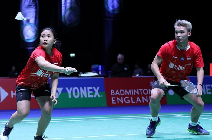 Ganda campuran, Rinov Rivaldy/Pitha Mentari jadi penentu kemenangan Indonesia, 3-2 atas Kanada di Piala Sudirman tadi malam/Foto: badmintonin