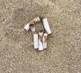Ilustrasi puntung rokok.Sumber gambar ( dokpri)