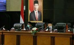 Suasana ruang rapat DPRD DKI Jakarta (Instagram.com/dprddkijakarta)