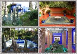 Lanskap Jardin Majorelle Yang Cantik Dan Indah (Dok.Wikipedia)