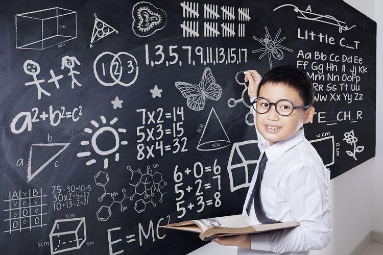 Ilustrasi anak belajar di kelas.  Sumber: Thinkstock via Kompas.com