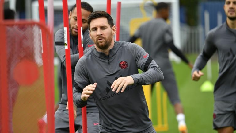 Lionel Messi kembali berlatih bersama PSG (Twitter: @psg_inside)