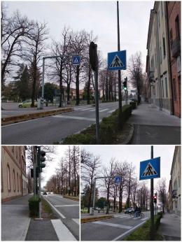 Lampu lalu lintas di Bandolini untuk penyeberang jalan (Foto. dokpri)
