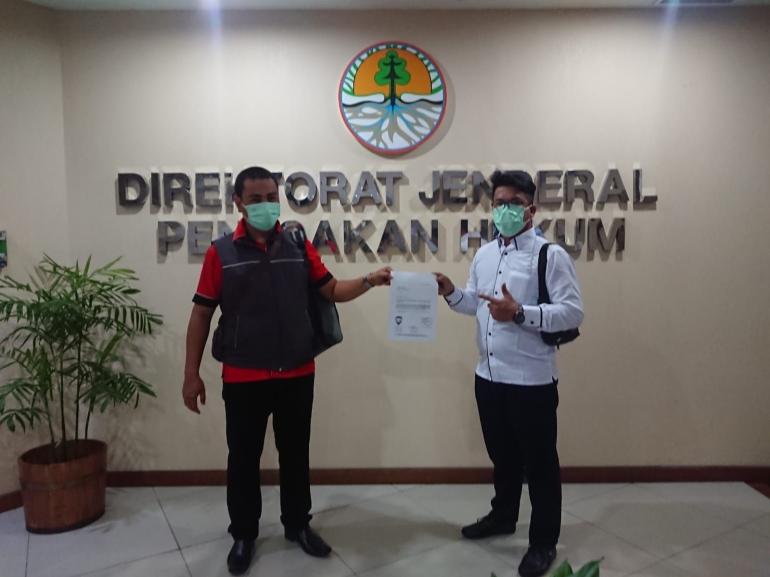 LSM KPMP Bangka, Lembaga Mabesbara dan Ampera-News Samabangi Kantor Dirjen KLHK