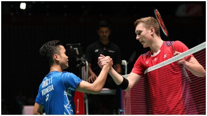 Viktor Axelsen dan Anthony Ginting akan membuat pertandingan perebutan juara Grup C, Rabu (29/9/2021) kian sengit: badmintonindonesia.org
