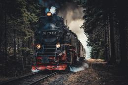 Ilustrasi Kereta terakhir | Foto oleh Mark Plötz dari Pexels