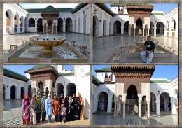 Universitas dan Masjid Al-Qarawiyyin Fez Marocco (Dok.Pribadi)