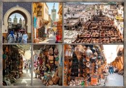 Denyut Nadi Ekonomi Old Medina Fez (Dok.Berbagai Sumber)