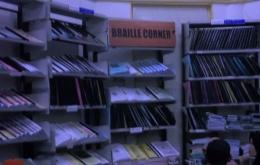 Braille Corner di Perpustakaan Museum KAA Bandung (Foto: solider.id)