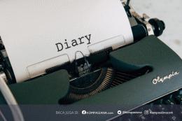 Diary. Sumber ilustrasi: PEXELS/Markus Winkler